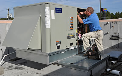 Comercial Rooftop HVAC System Repair