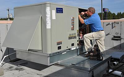 Comercial Rooftop HVAC System Repair